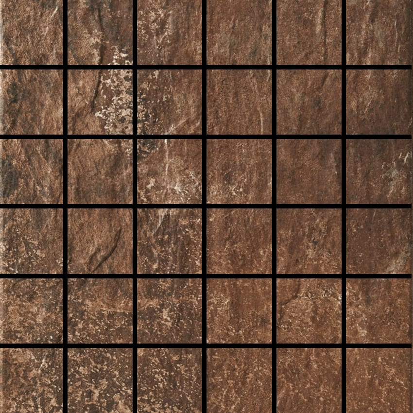 Slate Brown 2x2 Mosaic Natural Stone Tile